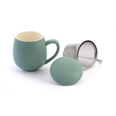 Tisanière en porcelaine