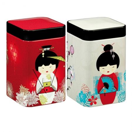 Boite à thé Geisha 100g